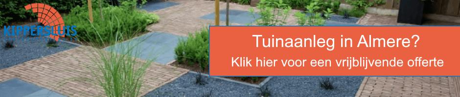 Tuinaanleg Almere