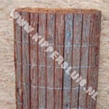 Gespleten bamboemat Coupé 200x500 cm