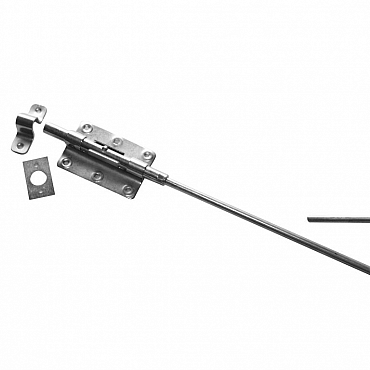 Staartgrendel zwaar verzinkt 600 MM (21073600) 5 stuks
