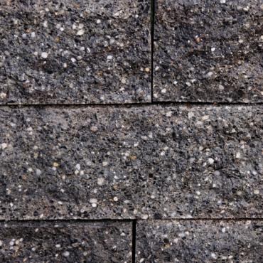 Granibiels zwart 60x14x15 cm
