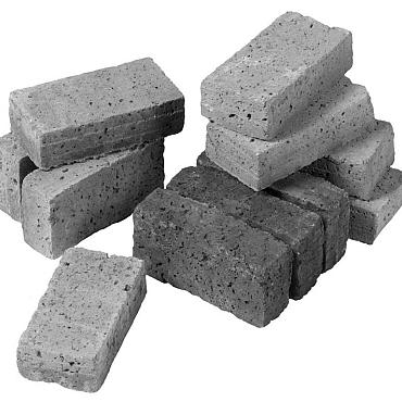 Oudhollands kleinplaveisel grijs 15x5x7 cm