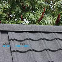 Aqua-Pan Windveer Antraciet 91cm (werkend 81cm)