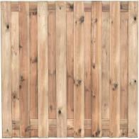 Actie Tuinscherm Recht 180>90x180 cm 16mm 19 planks (17+2) Verloop