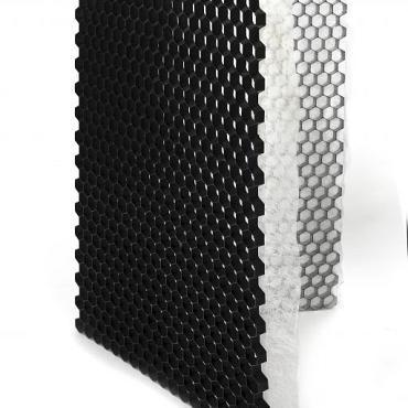 Grindplaat met onderdoek 120x80x3cm WIT