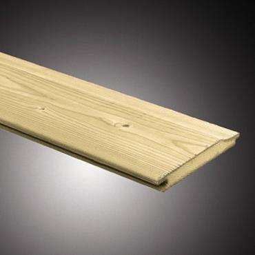 Rabatdeel noord europees vuren 1,8x13,5x360cm