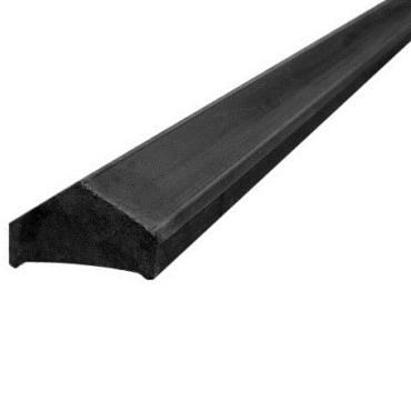 Betonafdekkap voor alle platen antraciet (lengte in het werk aan te passen) 180 cm