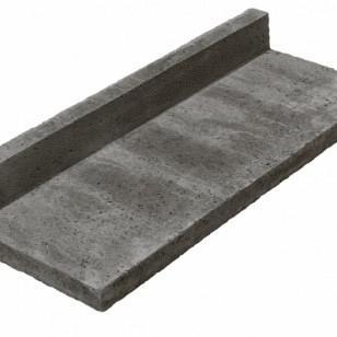 Oudhollands Traptreden l-model carbon 100x40x15 cm