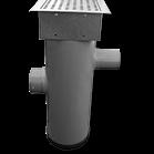 Zandvangput met loofscheider Ø 20cm, in- en uitlaat  Ø 100mm ZVP-MR615H