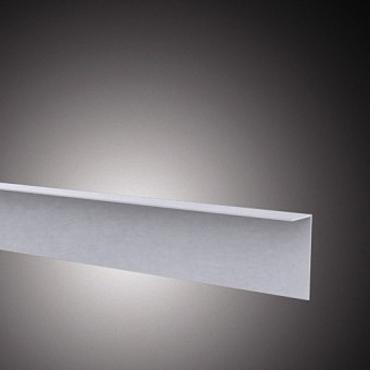 80731 Hoekprofiel loopdekdeel Aluminium 3x7x500cm