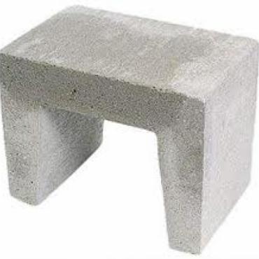 U-element grijs 40x40x50cm