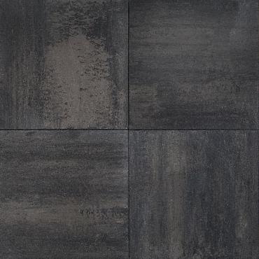 Betontegel Rivale 60x60x4.8cm silver black gen.