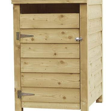 Containerkast enkel, 128,7 x 79,5 x 91 cm.