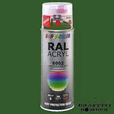 67163 Spuitlak groen RAL6005 400ml