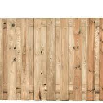 Actie Tuinscherm Recht 180x130 cm 16mm 19 planks (17+2)