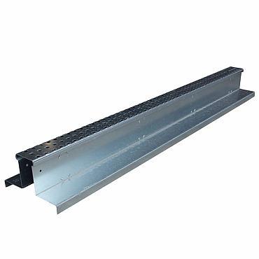 Rooster Slimline verzinkt 120x20/6,5x10 cm voor hydroblob D45