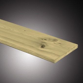 Actie Tuinplank Grenen 1.6x14x400 cm