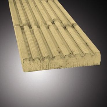 Vlonderplank Antislip Geimpregneerd 2.8x14.5x510cm