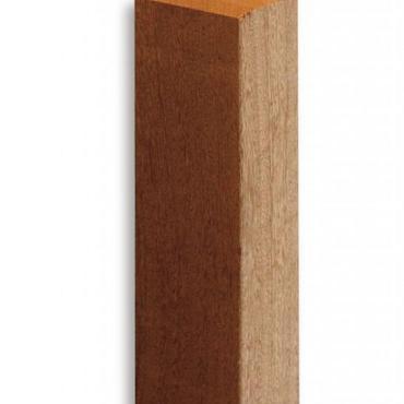 Belmonte Poorten Steunpiket Enkel 7x7x33 cm (voor openstaande poorten ivm gewicht)