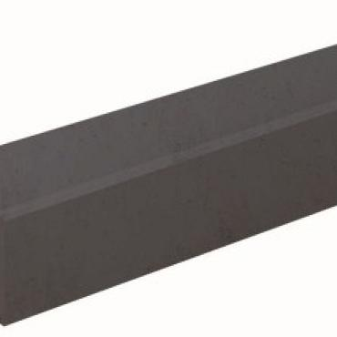 Betonpaal Rotsmotief hoekpaal antraciet 10x10x280 cm tbv 130 cm scherm