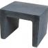 U-element zwart 40x40x50cm