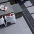 CeraTops Indigo Grey 60x60x4cm
