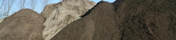Zand, tuinaarde en zakgoed